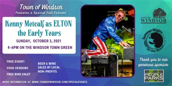 Oct 3 concert with Kenny Metcalf