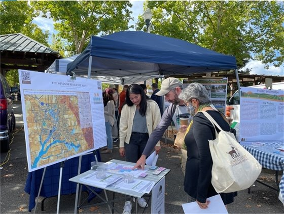 Booth for Windsor Resilience Plan