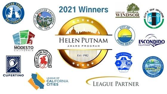 2021 Helen Putnam Award winners