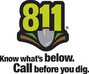 811 call to dig logo