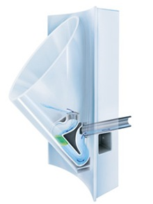 Waterless urinal image
