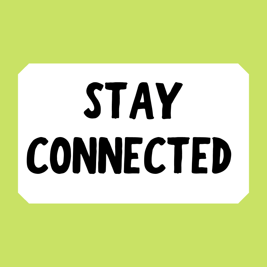 Stay Connected Button