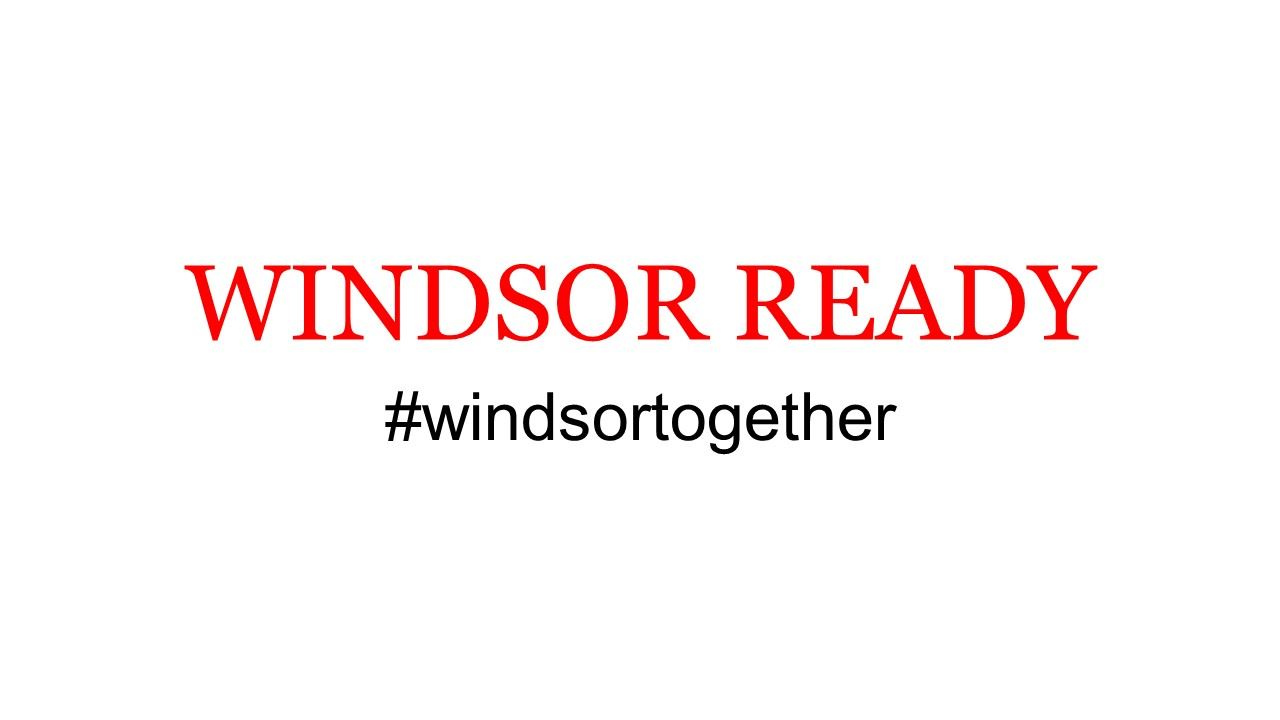 windsor ready for eventbrite