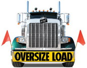 Image of oversized truck